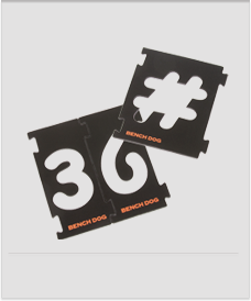 Numbering Sign Kit 31pce